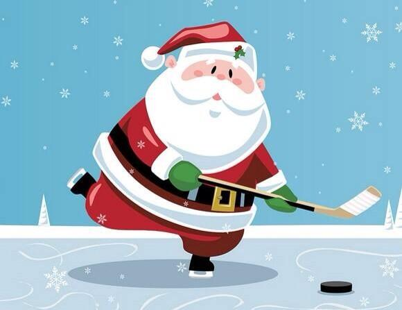 I always knew Santa was a hockey player. http://t.co/2NMc26K09R