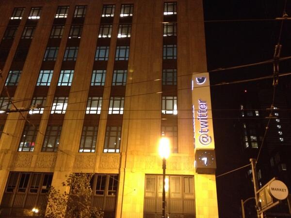 Tweeting Twitter @twitter, San Francisco. http://t.co/8GHIHfJDhK