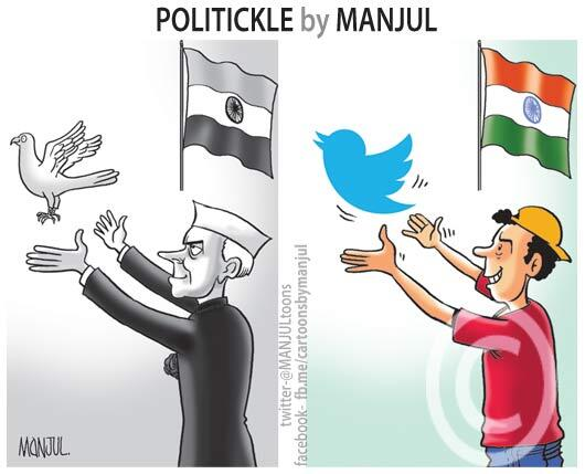 Indian Political Cartoons Deleted from Twitter — No Explanation Yet