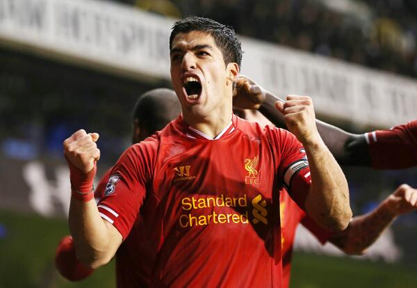 Bbm9D4BCMAAv4l1 Liverpool offer Luis Suarez £200k a week contract to stay at Anfield [Times, Telegraph & Guardian]