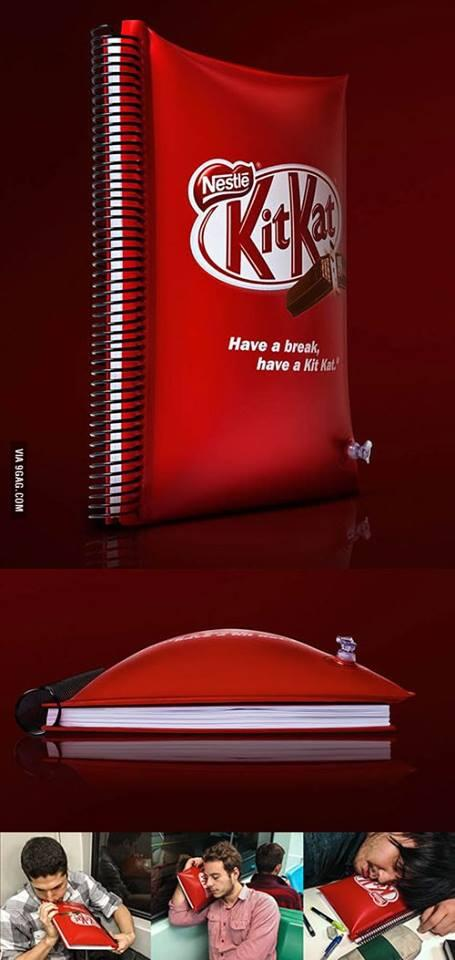 Twitter / gigwapi: KitKat were keen to the needs ...