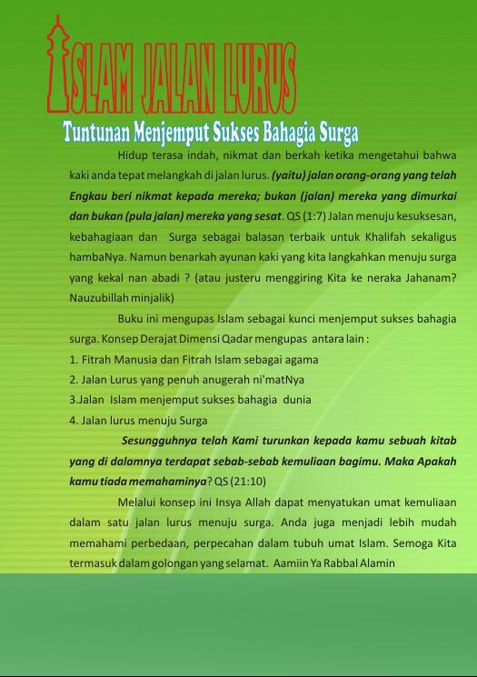 Daftar gambar Islam Jalan lurus