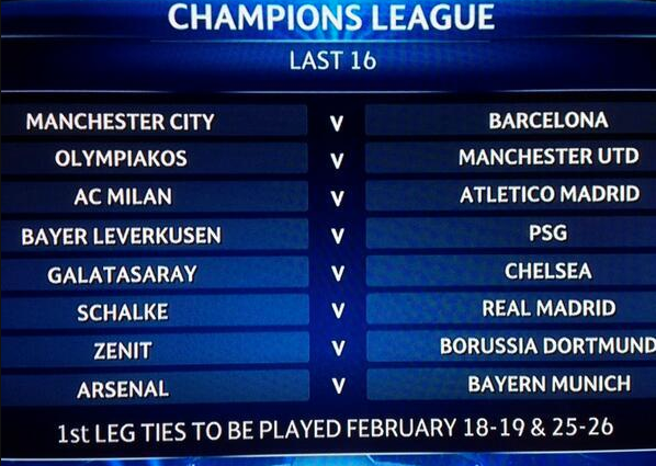 Champions League Draw – Round of 16 Bbmmrx3CUAAkszi