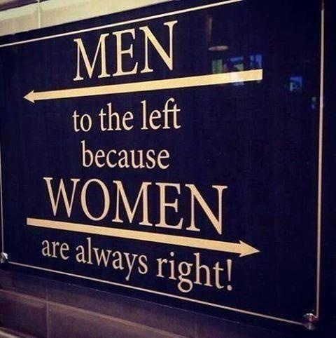 It's #fun! Did a #Man, or a #Woman come up with the idea for this sign? http://t.co/97difn3DBT