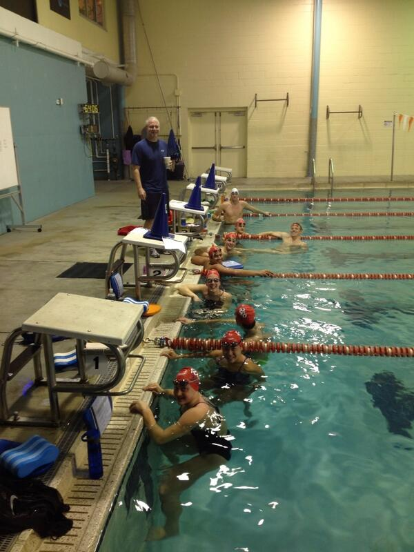 27 Olympic Golds in the water this morning. #NBAC #happyholidays! http://t.co/ZqP1ewI1Ln