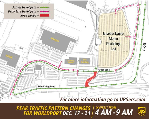 Ups airlines on twitter worldport upsers fern grade ln will be ups airlines on twitter worldport upsers fern grade ln will be closed 4am 9am dec 17 24 reference map for new traffic pattern ccuart Choice Image