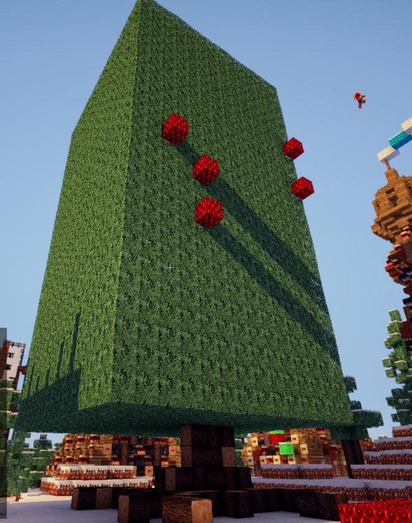 "Nice Christmas Tree explodingtnt on twitter: ""made nice christmas tree in minecraft"