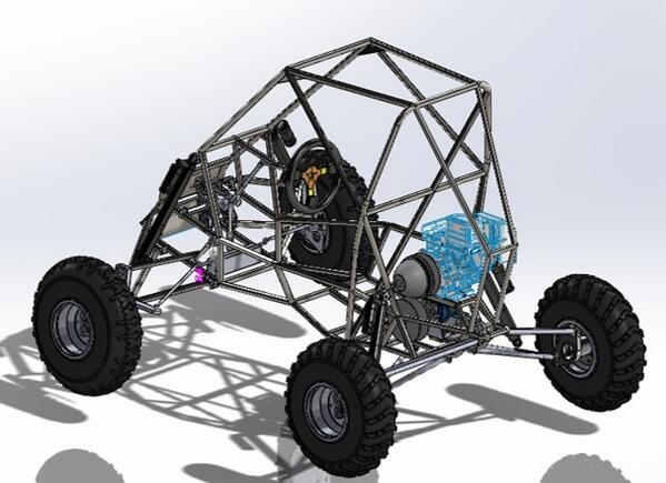 Bobcat Motorsports On Twitter The Design Of First Baja Car For Montanastate Sae Solidworks Http T Co Qaf1riyrwf