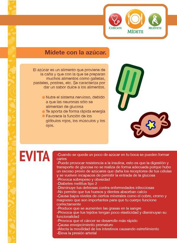 #SabíasQue El exceso de azúcar disminuye tus defensas contra enfermeda...