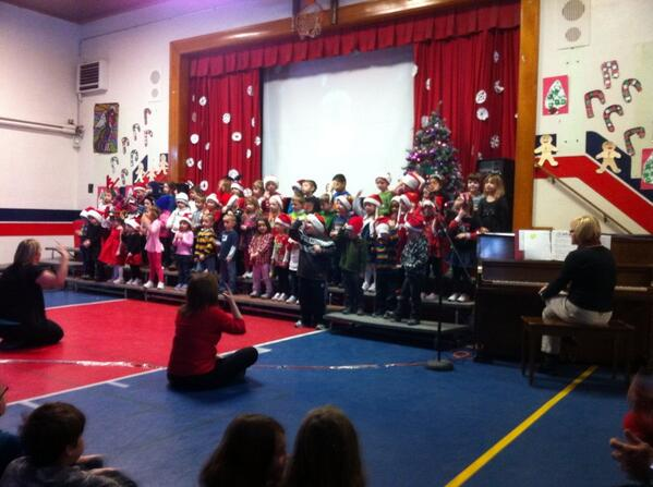 Nothing gets you into the Holiday spirit more than a primary Christmas concert! #tvdsbcelebrates http://t.co/u8Ymw4G8UM