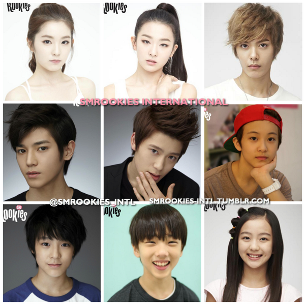"SMROOKIES Intl On Twitter: ""SMROOKIES (oldest To Youngest"
