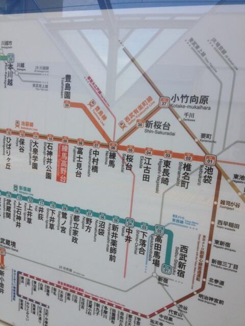 路線 図 線 西武 西武池袋線の路線図 急行等の停車駅と乗り入れ・乗り換え路線が分かる 路線図ネット