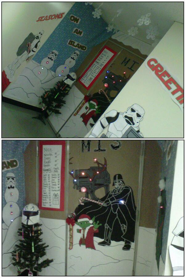 Christmas Door Decorations Star Wars Halloween Costume Ideas