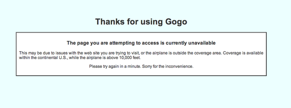Well, definitely not worth the $12 so far @gogo http://t.co/2mvRBvnHxd