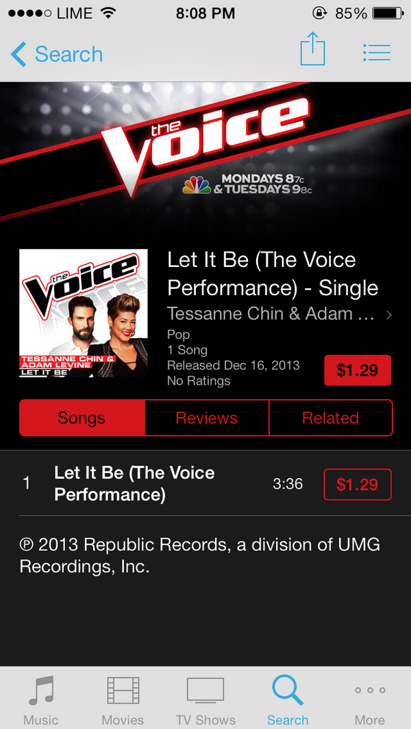 Tessanne singing Whitney Houston - I have nothing and also a collab with @adamlevine  tonight http://t.co/guR5QGUqyD