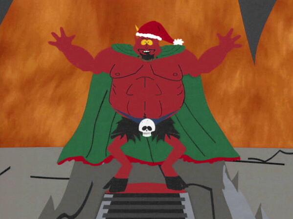South Park Christmas.South Park On Twitter It S Christmas Time In Hell