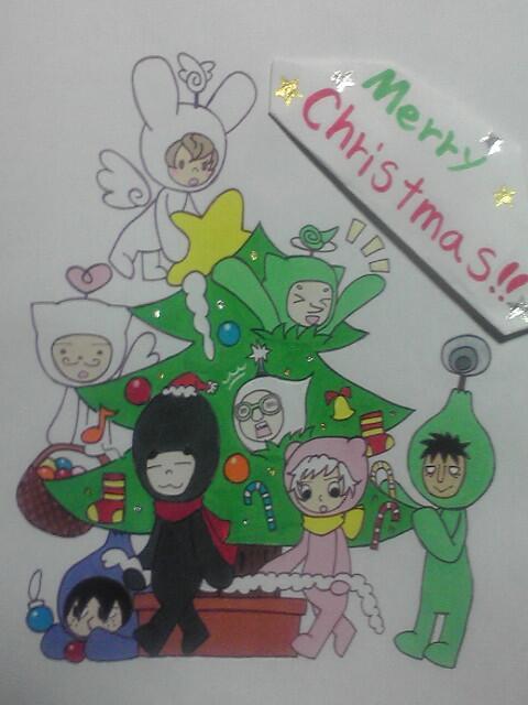 【電波人間のクリスマス:12】ルナシラさんのイラスト