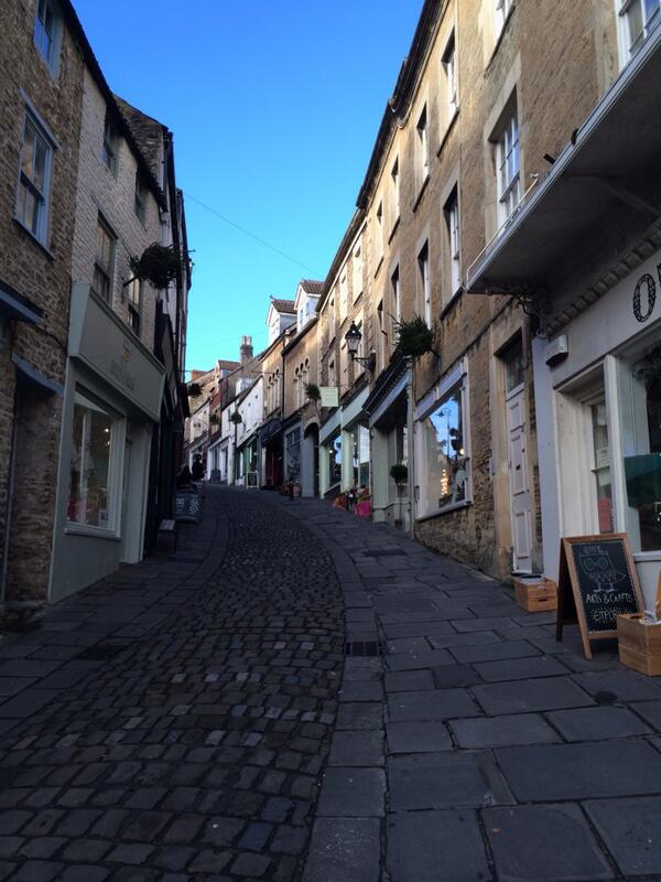 The coolest street in the West Country. Catherine Hill Frome http://t.co/b0utib4I6l