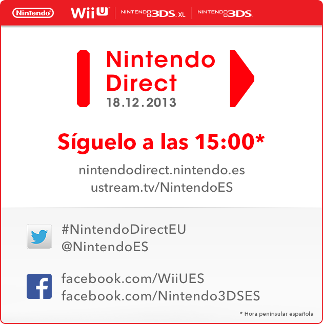 Nintendo Direct diciembre