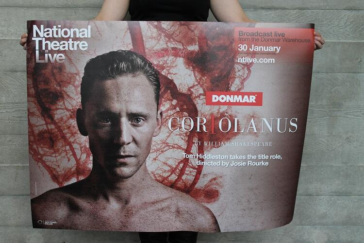 Twitter / ntlive: It's #Coriolanus press night ...