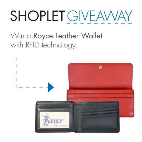 #WIN either a men's or women's Royce leather wallet! Follow, RT, and enter here: http://t.co/qGi5NqhVLI #giveaway http://t.co/Q65IEoFKLS