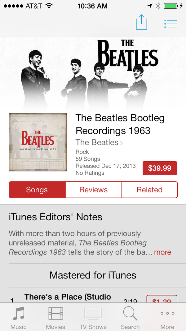 Not searchable in US iTunes Store,  just downloaded song from new Beatles 1963 bootleg collection http://t.co/bamtbhIZBP