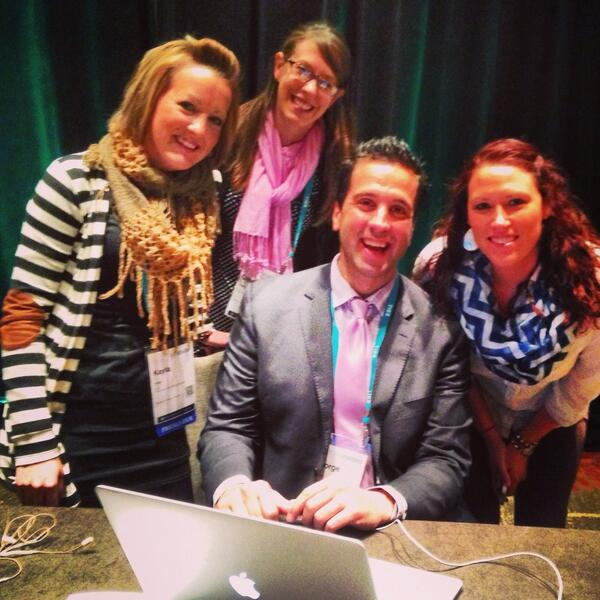 The best thing to come from Canada, well besides @justinbieber! Thanks again @gcouros! #ties13 @lindzj3 @FrauJago http://t.co/yW5ukwk2uq