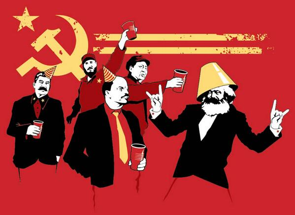 Karl Marx is trending, communist party anyone? http://t.co/eReN0v2r04