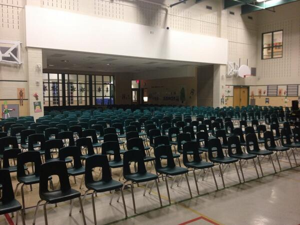 Our gym ready to invite parents and the community to our concert #tvdsbcelebrates http://t.co/QW6U0ZBk1S