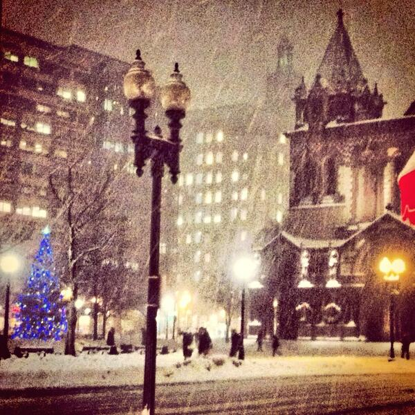 Let it snow, let it snow, let it snow! #boston #BOSnow #copleysquare http://t.co/fGHrts3MeR