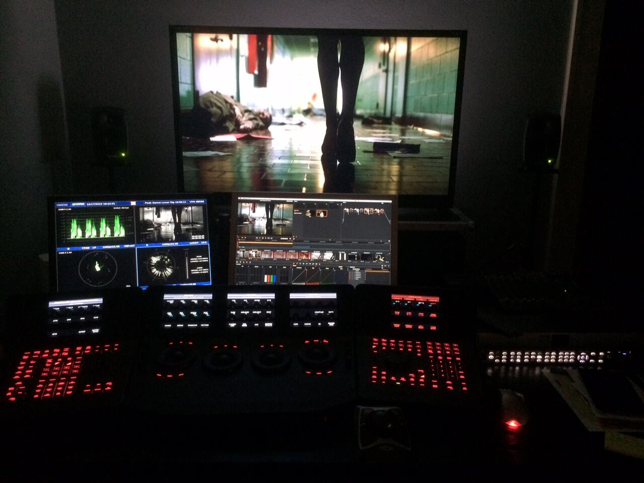 Color Grading Monitor - Alexis Van Hurkman Set Up
