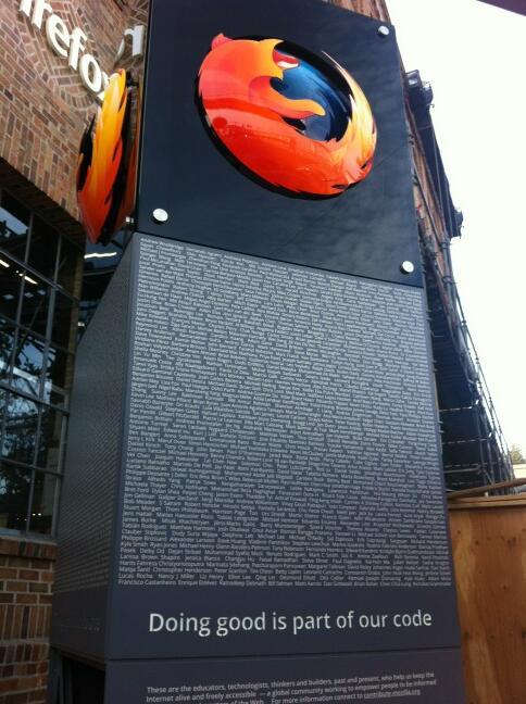 Firefox Monument