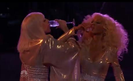 Hoy en The Voice: Xtina y Lady Gaga juntas en el mismo escenario - Página 3 BbvRi0iCcAA0bDS