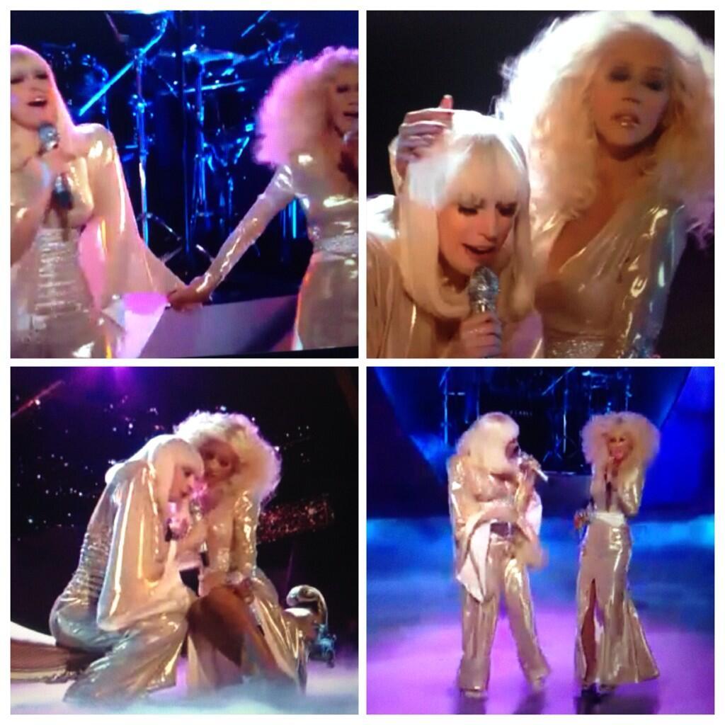 Hoy en The Voice: Xtina y Lady Gaga juntas en el mismo escenario - Página 3 BbvRkI4IQAAmxck