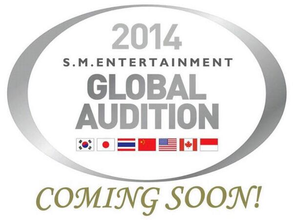 2014 S.M Entertaiment Global Audition 'Coming Soon' ~ *ada Indonesia loh* http://t.co/NfxLrK77IS