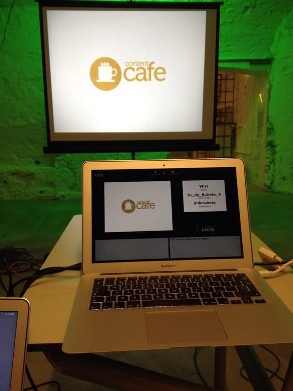 We zijn er klaar voor. Editie 8 ContentCafé. http://t.co/MrQHQez8s9