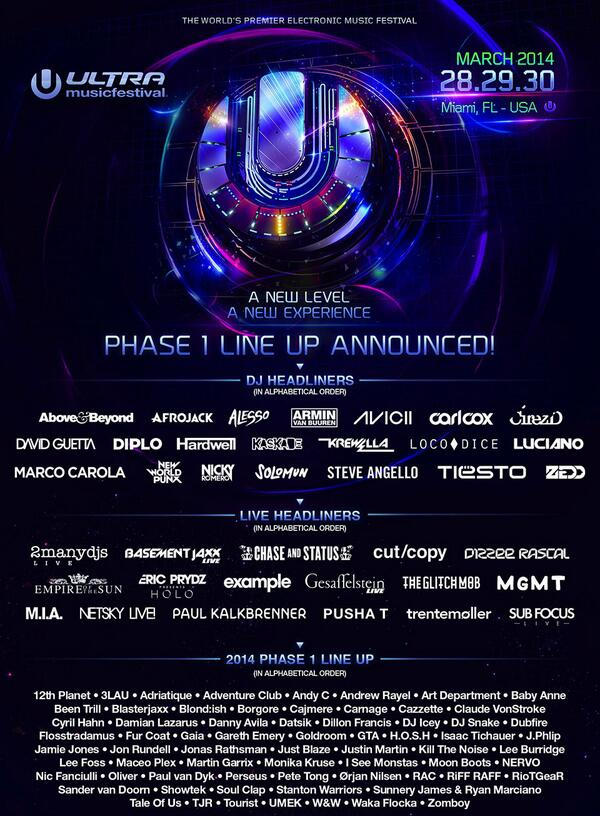 Happy to announce I will be doing my live show at Ultra festival Miami 2014! http://t.co/U16pT5626H