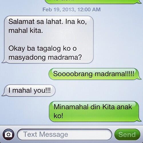 Julia Barretto On Twitter Missprettyjulia Julia Barretto Texting Her Mom In Tagalog So Funny T Co Znmenpll
