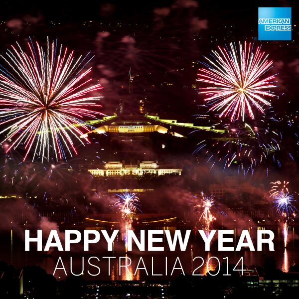 american express on twitter happy new year australia httptcou3ort3lbaw