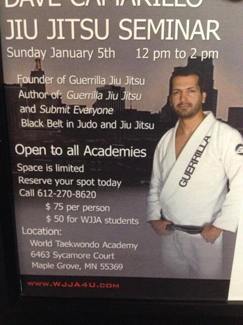 Seminar in Minnesota. Open to all! Train with Everyone http://t.co/Zr4pV00Lqt