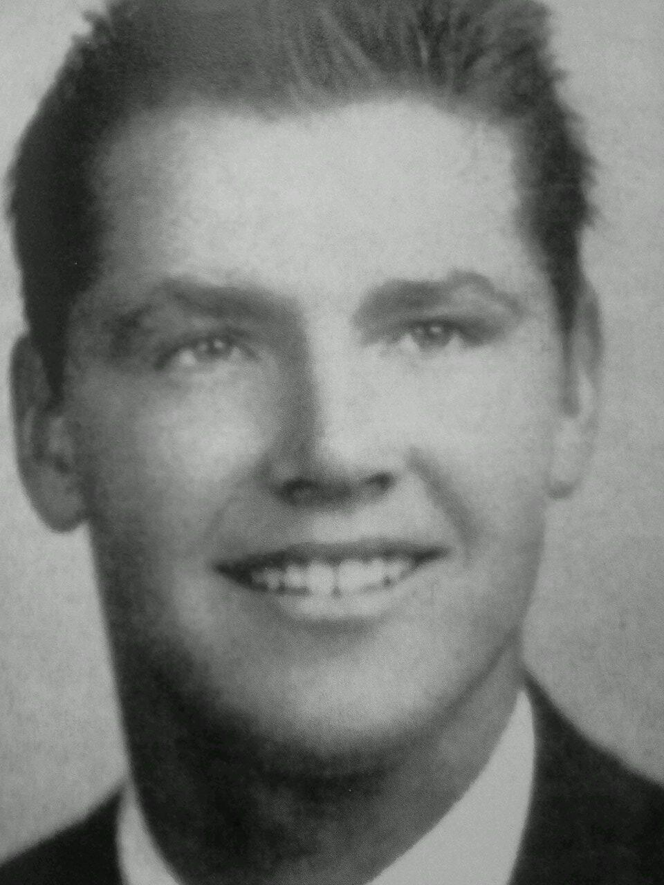 Twitter / mccrabb_will: JACK'S 1954 yearbook photo ...
