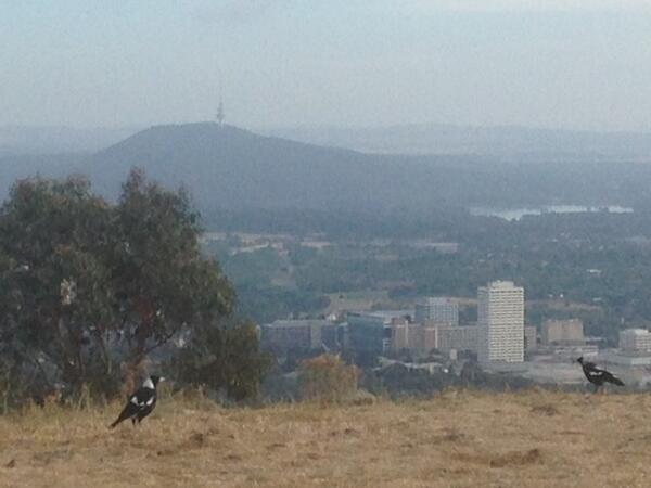 @abcnews #dayafter #NewYear 13km run incorporating a climb over Mt Taylor, #Canberra http://t.co/iPeGAwJkCx