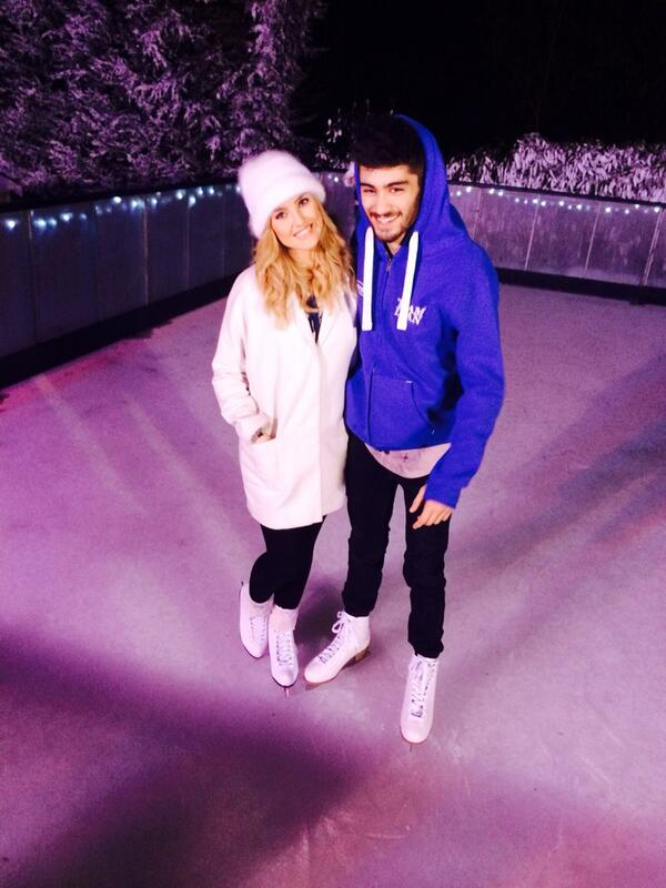 Happy new year everyone! Here's to an amazing 2014! :D Zayn&Perrie Xx http://t.co/Jt4OjYuGBw