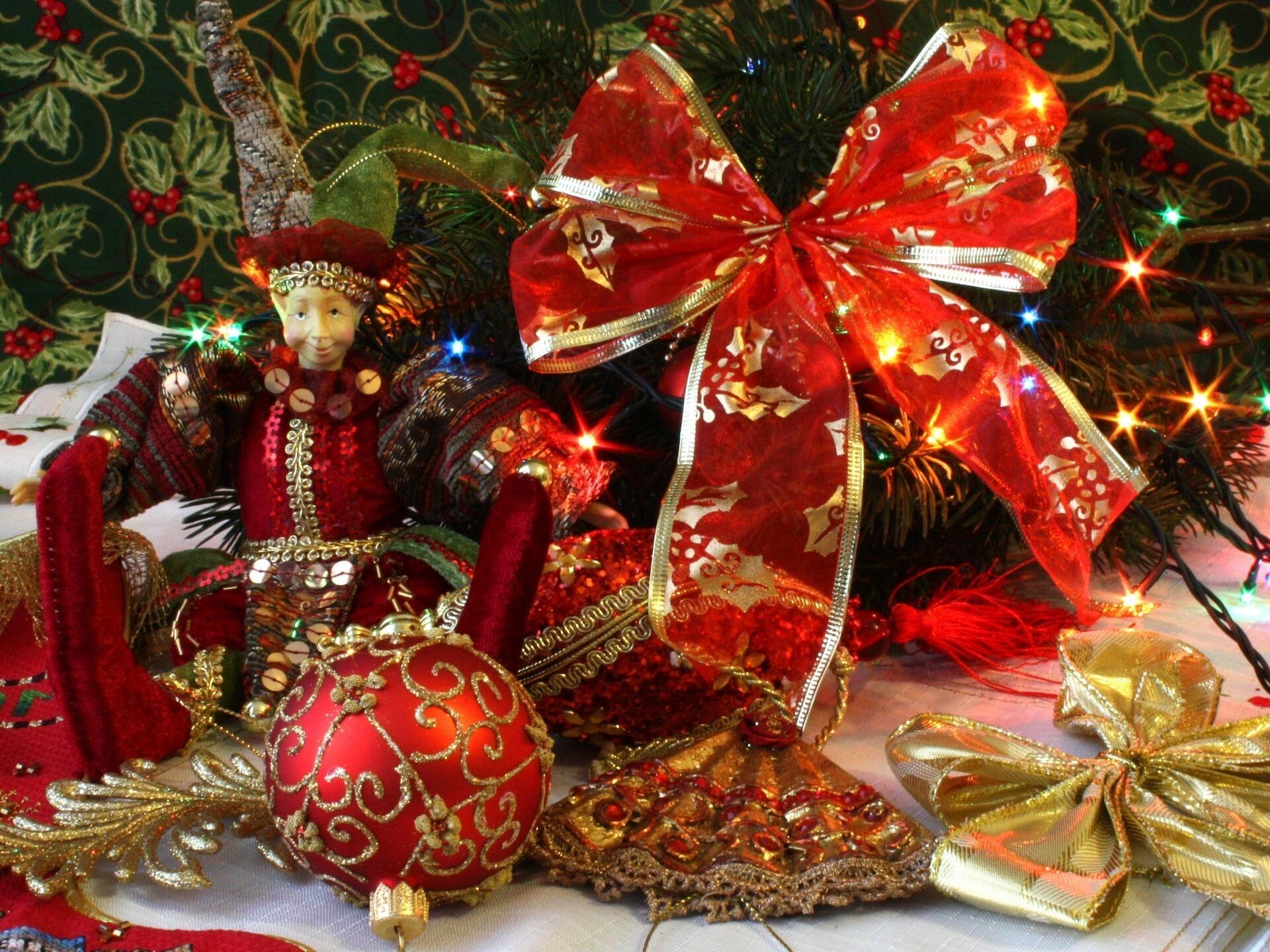 убереги картинка с новогодней тематикой светлого