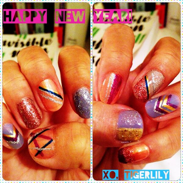 Tiger lily nail art tigerlilynails twitter prinsesfo Gallery