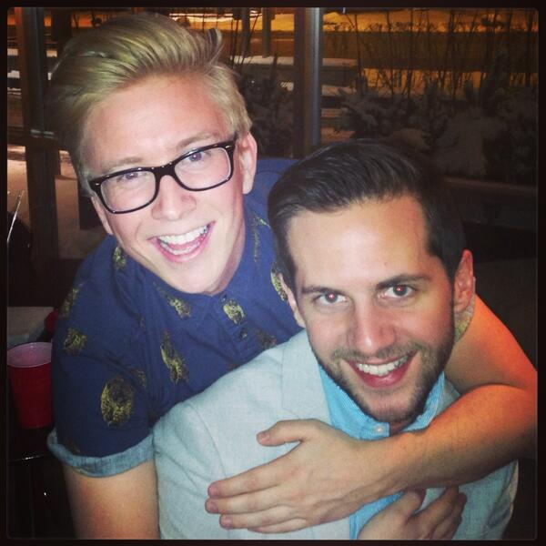 """Tyler Oakley on Twitter: """"New Years Eve with my college ..."""