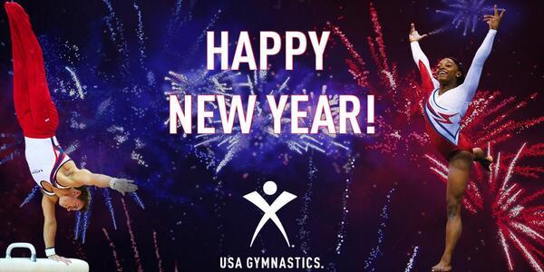 usa gymnastics on twitter happy new year httptcoj800uzmvrs
