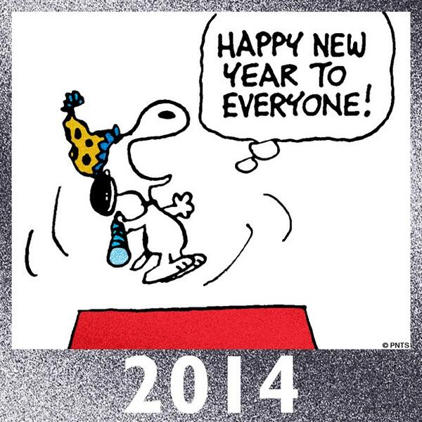 "Happy New Year Charlie Brown Quotes: PEANUTS On Twitter: ""Happy 2014! Http://t.co/cscFdR6kwX"""