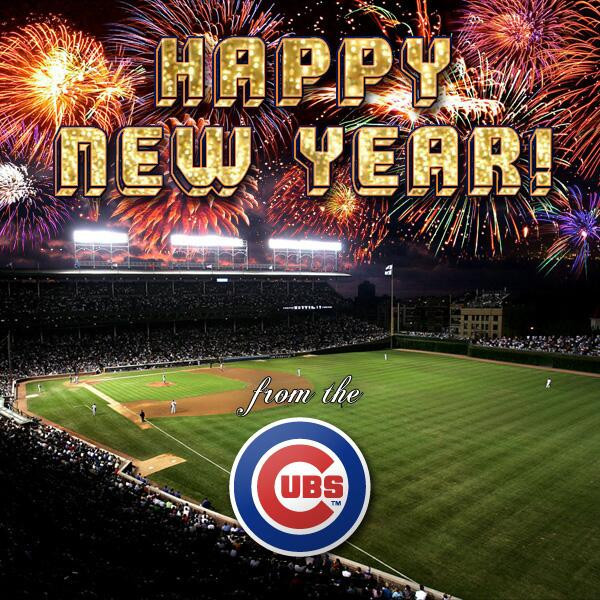 chicago cubs on twitter happy new year httptcoh27iqa4fog