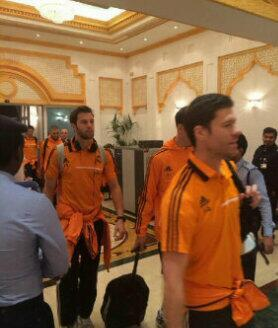 Real Madrid News Now : Real Madrid in Doha.